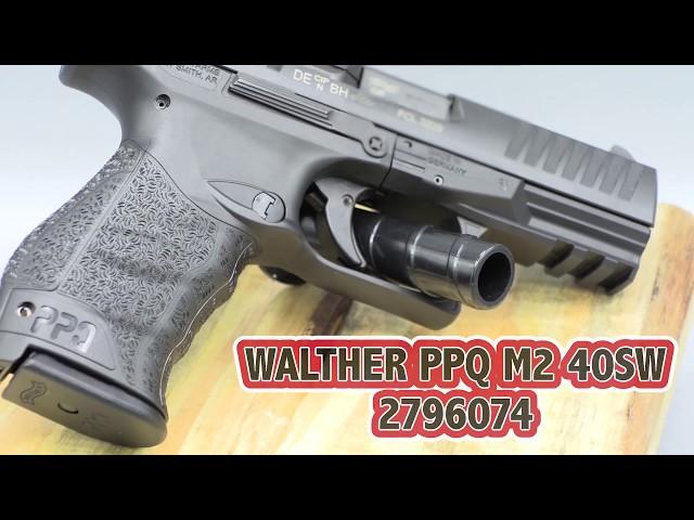 Walther PPQ M2 .40 S&W Spotlight