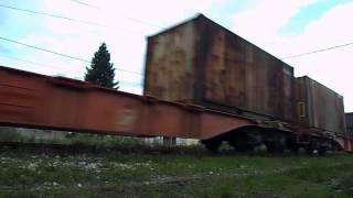 Teretni voz na čelu sa 661-121