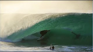 Skimboarder Catches Unbelievable Waves With Style in California
