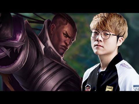 SKT T1 TEDDY is a BEAST with LUCIAN! - When Teddy Picks Lucian ADC!