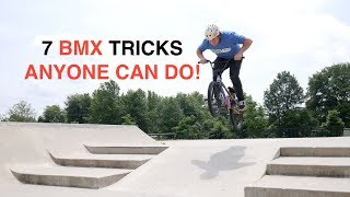 ANYONE CAN DO THESE BMX TRICKS! (How To Basics)