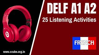 DELF A1 A2 Listening Practice Test Sample papers Online - Comprehension Orale