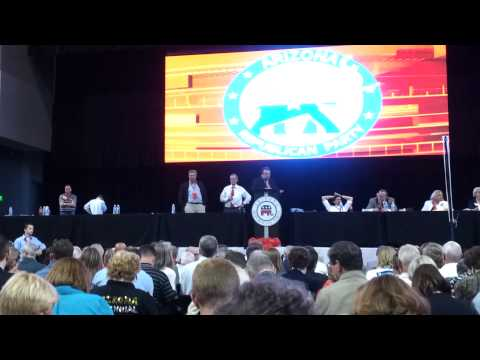 Arizona State Convention to Pick National Delegates Pt II