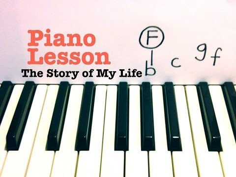 The Story of My Life ★ Piano Lesson ★ One Direction (Todd Downing)