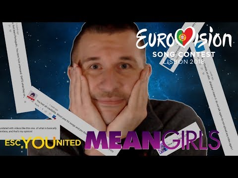 Eurovision 2018: Reading & Reacting to Mean/Hate Comments