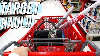 target shopping haul! vlogmas day 19