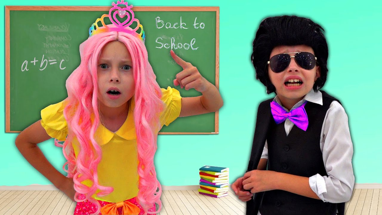 Alice andJohny story about school and responsibility