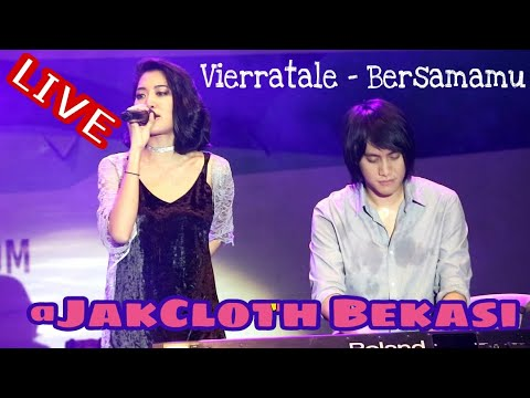 Vierratale - Bersamamu Live fancam @JakCloth Bekasi 2017
