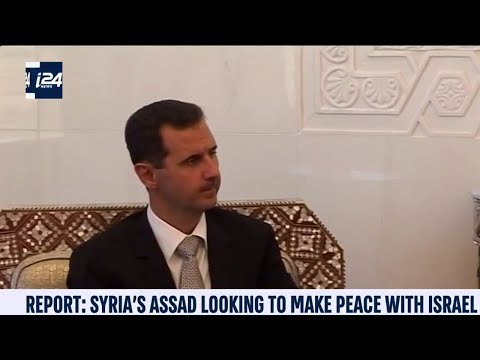 Syria's Assad Seeking Peace Deal With Israel: Report