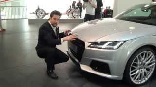 2015 Audi TT design - Audi designer Andreas Valencia Pollex neuer Audi TT - Autogefühl