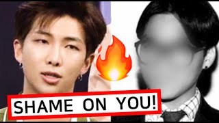 RM Dissed Cheating KPOP Singers! BTS' Incredible Influence in Korea