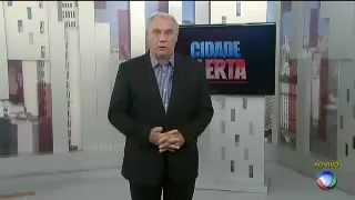 Estréia do ''Cidade Alerta'' com Marcelo Rezende em rede nacional