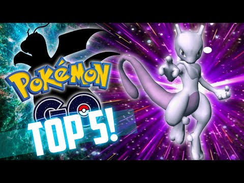 TOP 5 Strongest Pokemon in Pokemon Go!