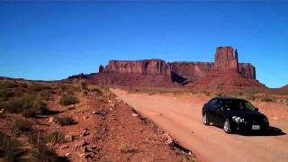 Day + Night at Monument Valley