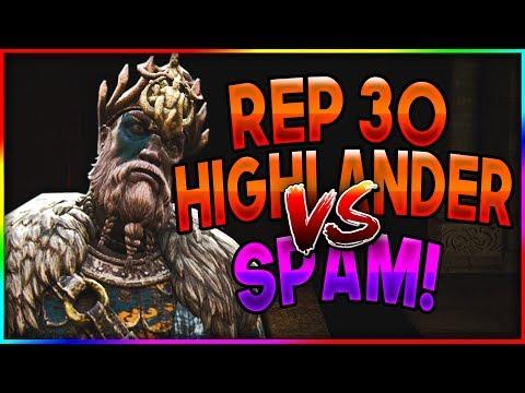 Rep 30 Highlander Vs Spamming Conqueror! - Rep 30 Highlander Gameplay