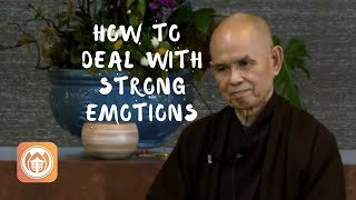 How To Deal wİth Strong Emotions | Thich Nhat Hanh (short teaching video)