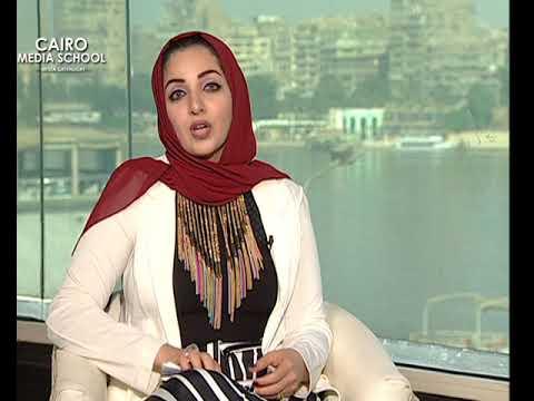 "Nourhan Ahmed  - Presenting Talk Shows October "" Ramy Radwan """