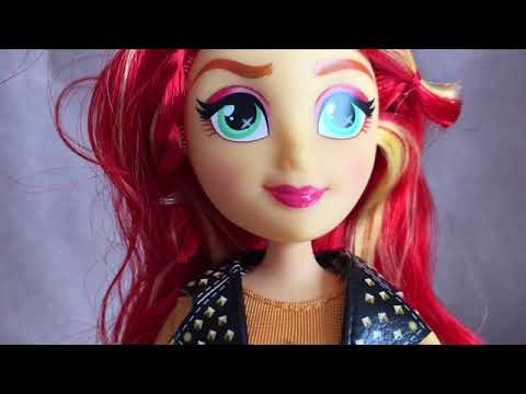 Equestria Girl Doll Sunset Shimmer Unboxing And Review