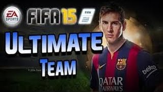 FIFA 15 FUT#3 match en ligne on test yeni