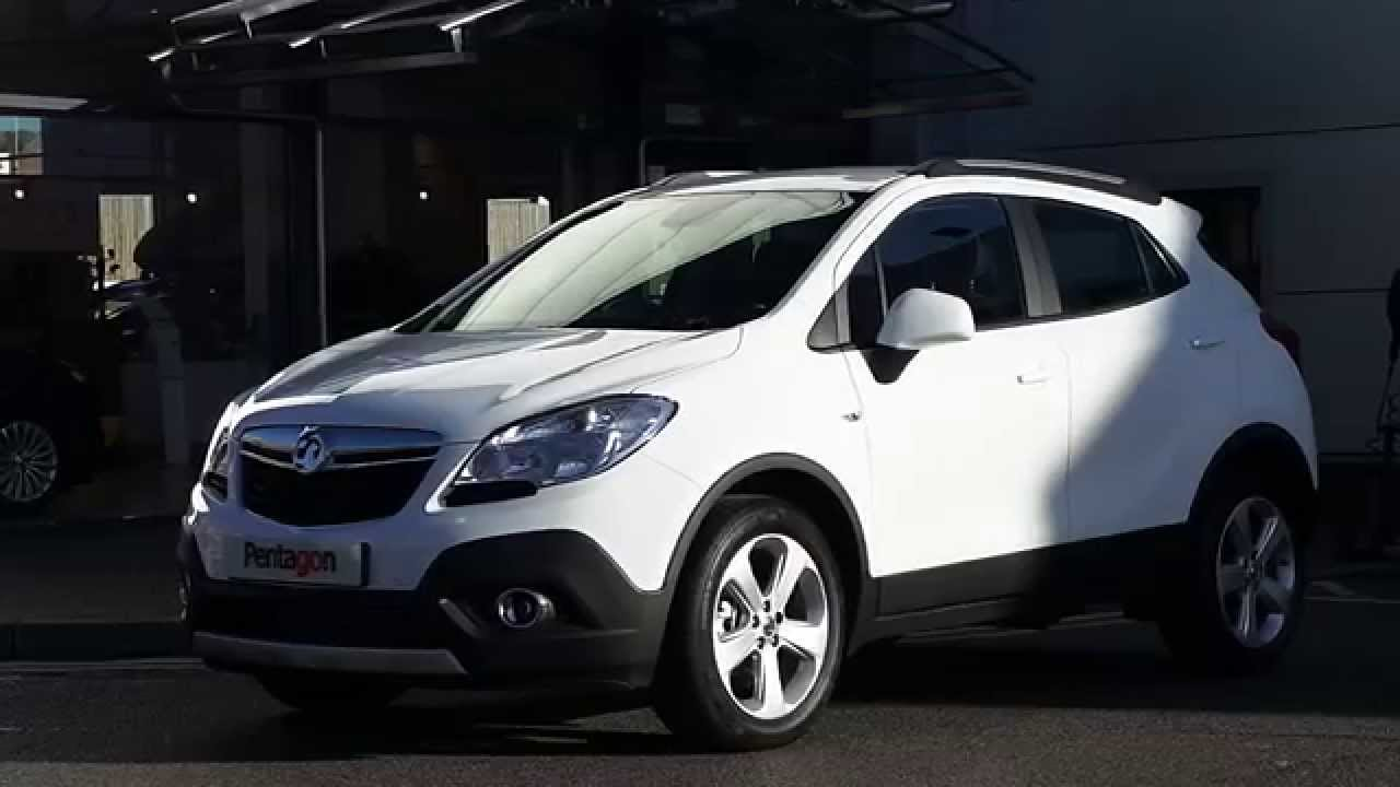 2014 64 plate vauxhall mokka 1 7 cdti tech line 5dr 4wd delivery miles in summit white youtube. Black Bedroom Furniture Sets. Home Design Ideas