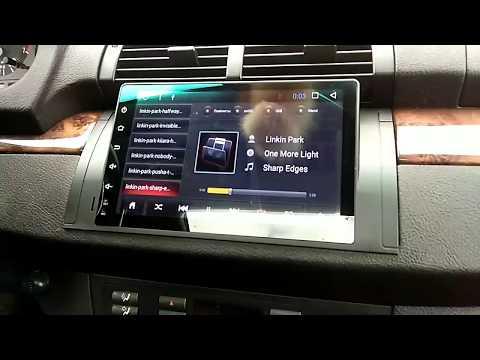 """Мультимедиа для BMW X5 Е53 Штатная магнитола с экраном 9"""" Android 6.0.1"""