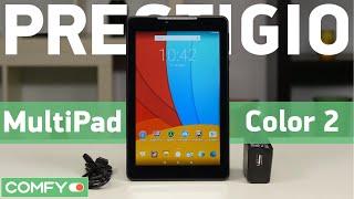 Prestigio MultiPad Color 2 PMT3777 8Gb 3G - небольшой планшет с IPS-дисплеем - Видеодемонстрация