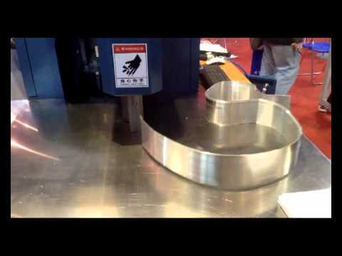 Stop Sign Shape >> Super Full Function Channel Letter Bender Chanle Letter Bending Machine (TPS-S9700) - YouTube