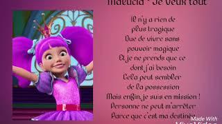Barbie la porte secrète - Je veux tout (Lyrics)