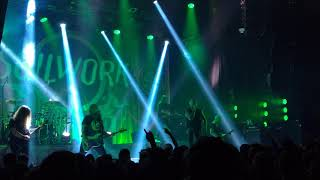 Soilwork - Drowning With Silence (HD) Live at Rockefeller, Oslo,Norway 16.01.2019