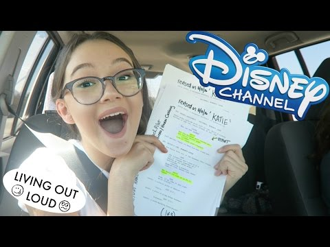 Road Trip For Disney TV Audition + Coaching + Shopping at Americana LA!! | Acting Auditions w/ Fiona