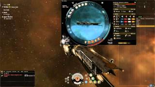 Eve Online: The Serpentis Burner Mission w/ a Confessor!