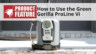 Green Gorilla ProLine Vi Battery Powered Electric Sprayer