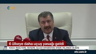 Türkiye'de vaka sayısı 47'ye çıktı