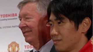 Introducing Toshiba's Partnership with Manchester United Football Club
