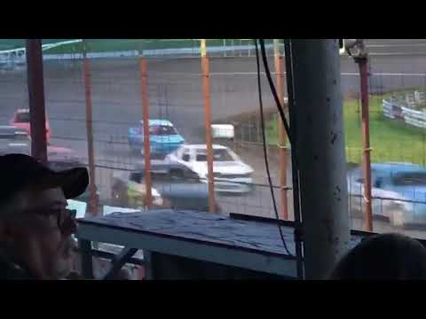 Hard hit @ madison speedway