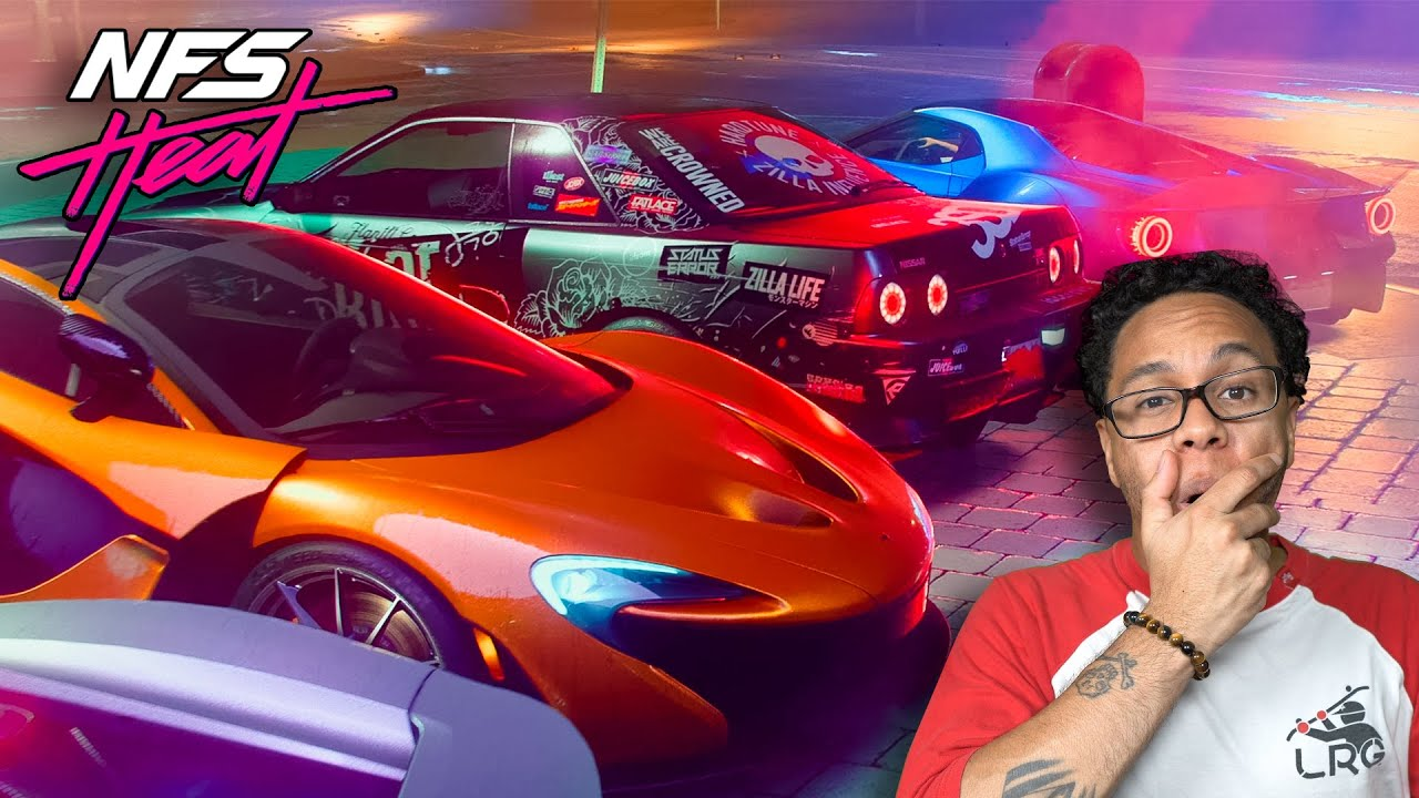 HOW NOT TO DRIVE in NEED FOR SPEED HEAT!!! Eps. 1