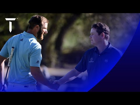 Johnson & MacIntyre halve thrilling match 2021 WGC-Dell Match Play