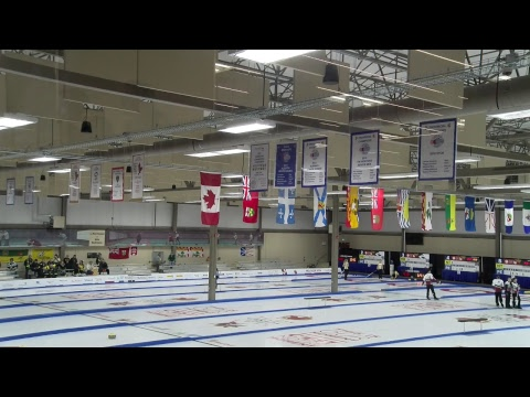 2019 CWG - Curling (F)  - NL Vs BC - Sheet 11