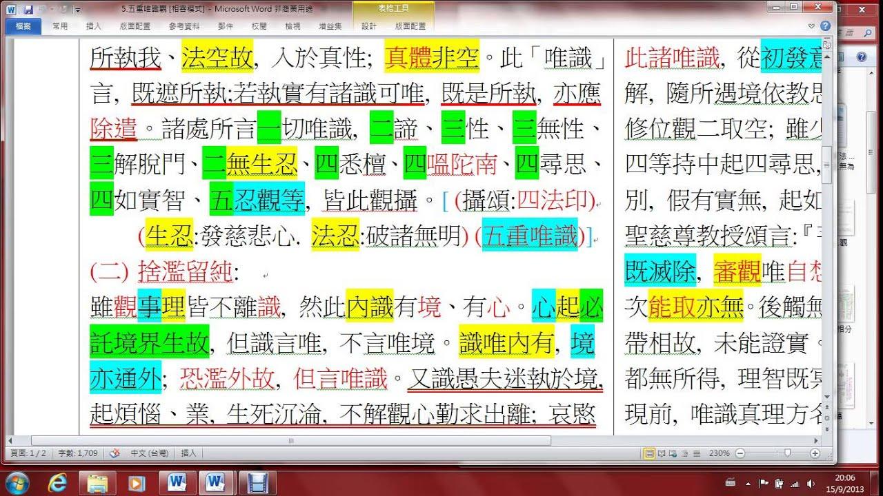 香港普明佛學會 2013 915解深密經9 8 葉添財居士 - YouTube