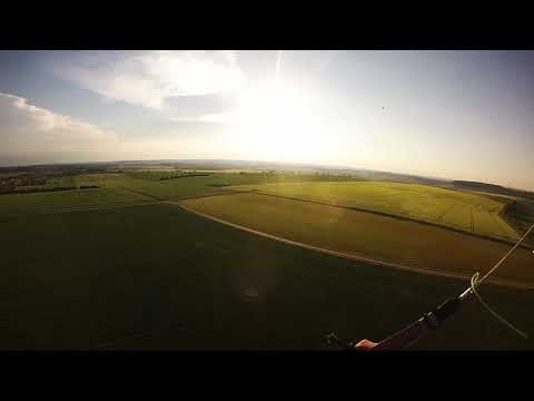 "Paramotor Trip to - ""BAN ST. JEAN"" - Lost Place - HD"