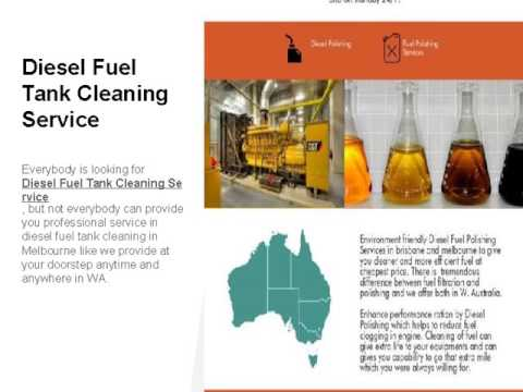 Diesel and Petrol Fuel Tank Cleaning Services & Cost