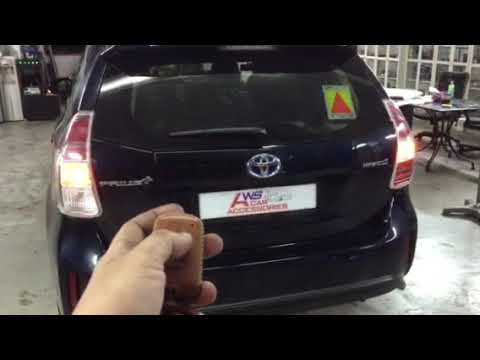 Toyota Prius Plus👉2019 Installed Electronic Tailgate Lift N Vaccum Lock