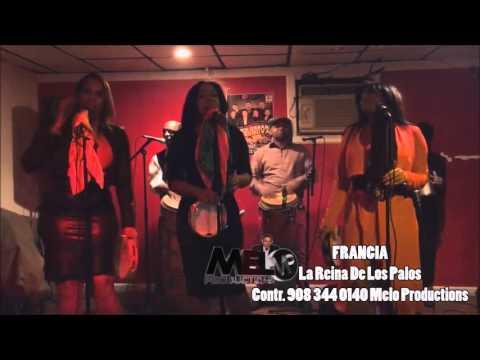 Melo Productions presenta Francia La Reina de Los Palos en vivo