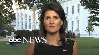 'GMA' Hot List: Nikki Haley says US is trying to 'defeat terrorism of all kinds' in Afghanistan