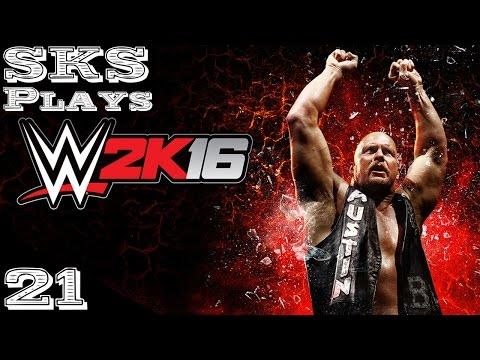 WWE 2K16 My Career Mode w/ SKS - Ep. 21 6 Man Battle Royal!