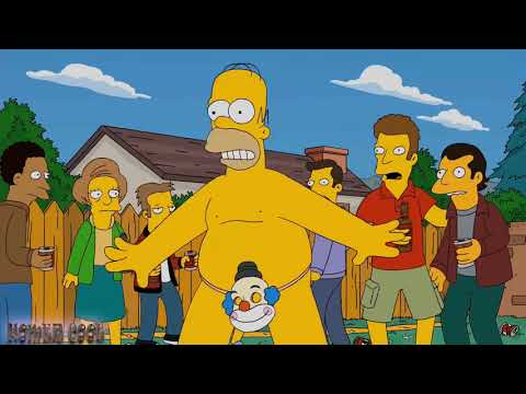The Simpsons - Homer Naked! from YouTube · Duration:  3 minutes 31 seconds
