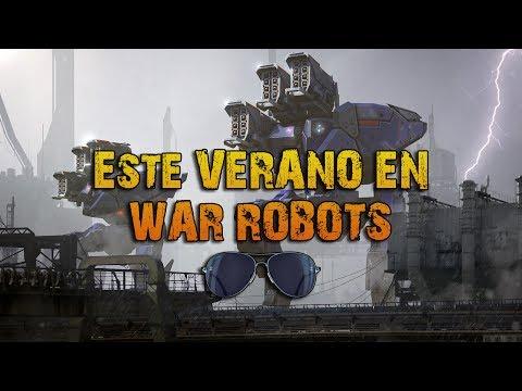 ESTE VERANO EN WAR ROBOTS | SUPER ACTUALIZACIÓN!