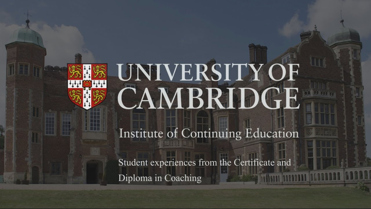 Coaching Courses At The University Of Cambridge Youtube