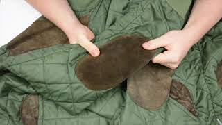 Suede jacket cleaning - damaged after washing machine