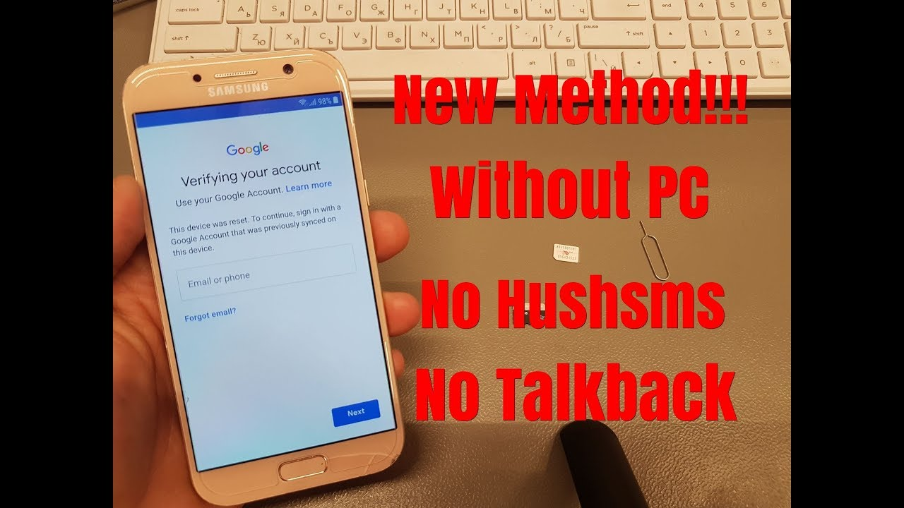 BOOM!!! Final Method!!! Samsung A5 2017 SM-A520F  Remove Google  Account Bypass FRP